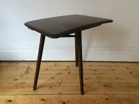 Vintage Mid Century Ercol 3 Legged Dining Table Extension for Plank Table