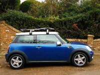 2007 MINI Hatch 1.6 Cooper 3dr,FULL SERVICE HISTORY, 12 MONTHS MOT, HALF LEATHER SEATS, BLUETOOTH
