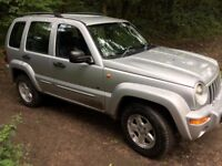 Great reliable 4 x 4 - Jeep Cherokee CRD 2.5 sport