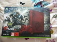 Xbox One S Limited Edition 2TB Gears of War Fully Boxed
