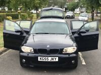 BMW 120D 2.0L DIESEL MANUAL 5DOOR HATCHBACK+HPI CLN+3MNTH WARRANTY+1YR MOT+SERVICE HISTORY AVAILABLE