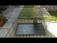 DOG CRATE. XXL. METAL BASE