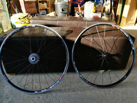 Shimano R500 road wheels