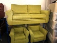 NEW - EX DISPLAY John Lewis KITSON 3 SEATER + 1 SEATER + 1 SEATER RECLINER CHAIR SOFAS 70% Off RRP X