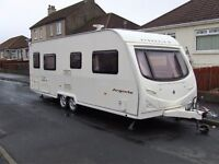 AVONDALE ARGENTE 642-4 TWIN AXLE FIXED BED FULL END WASHROOM