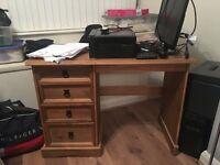 Wooden computer unit