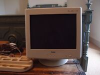 17'' CTR monitor for free