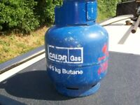 CALOR 4.5 KG BUTANE GAS BOTTLE ( EMPTY)
