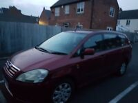 Toyota avensis verso, diesel, mot and tax