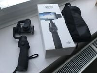 DJI Osmo mobile with stand - superb condition with box, bag and cables