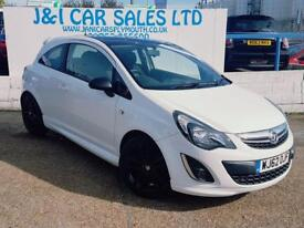 VAUXHALL CORSA 1.2 LIMITED EDITION 3d 83 BHP A GREAT EXAMPLE INSI (white) 2012