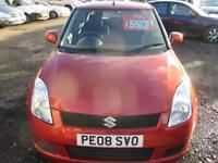 SUZUKI SWIFT 1.3 GL 5dr (orange) 2008