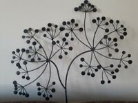 Metal wall art approx 28 x 22 inches