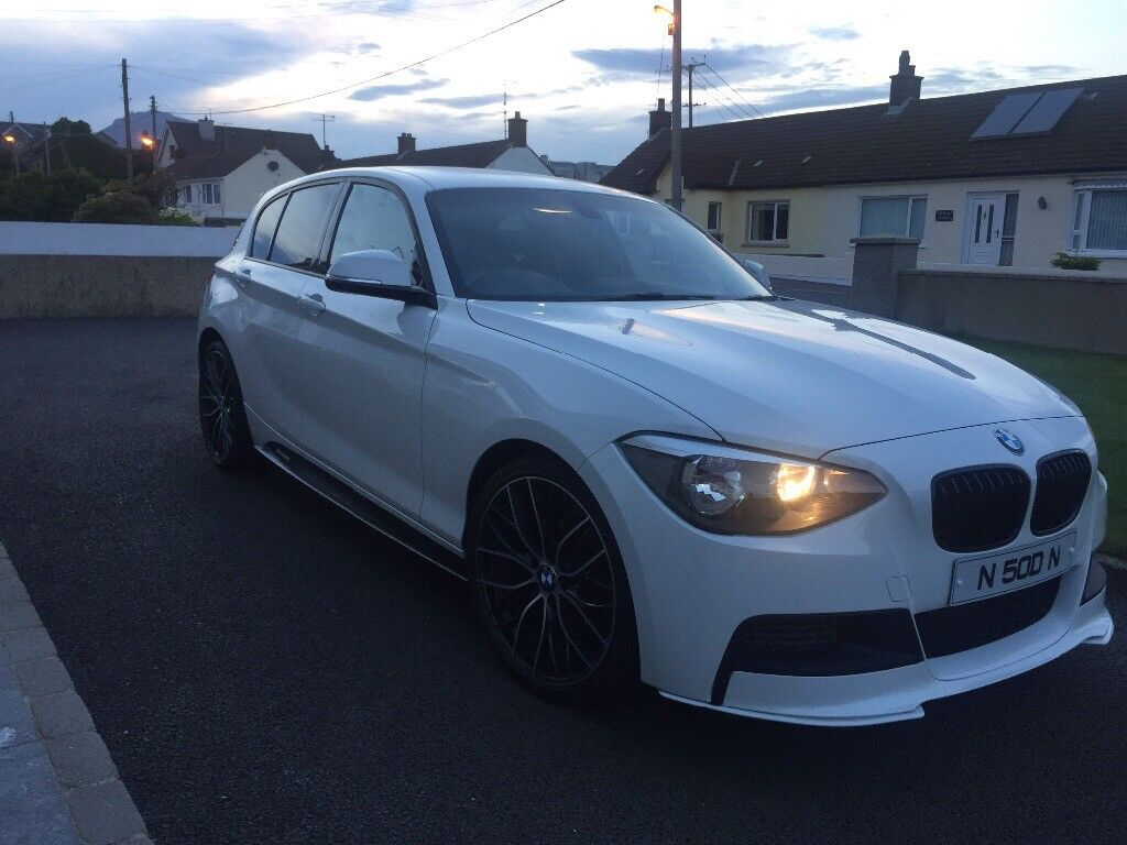 bmw 116i m sport 2012 factory fitted sports kit in newry. Black Bedroom Furniture Sets. Home Design Ideas