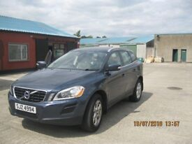 Volvo XC60 2011, blue, leather seats, parking sensors.