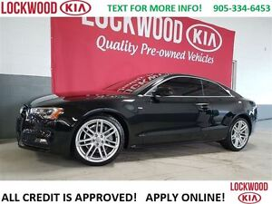2015 Audi A5 Technik - S-LINE, QUATTRO, LEATHER
