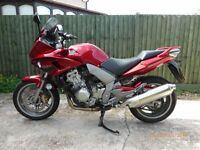 Honda CBF 1000,ultra low mileage,one owner,garaged,fsh,unmarked,non better,never been in the rain.