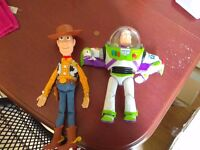 Toy Story Classic Talking Buzz Lightyear and woody
