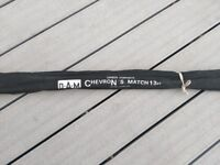 D*A*M Chevron S Match Carbon Composite 13ft Fishing Rod