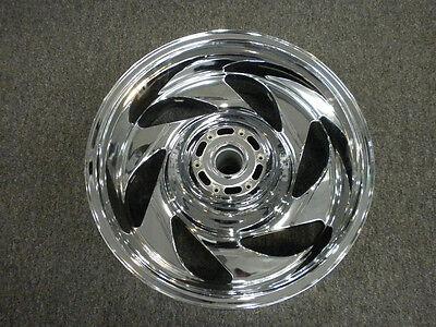 SUZUKI M109 VZR1800 REAR Chrome wheel  06-19 M109R OEM EXCHANGE REAR ONLY