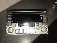 Subaru OE Headunit with CD Changer