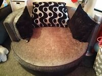 DFS Shannon Cuddle/Swivel Chair - Delivery