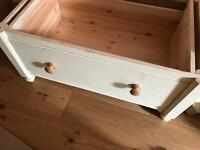 Wardrobe (with drawers at the bottom. here separated) and chest of drawers