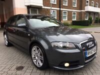 AUDI A3 2.0T S LINE QUATTRO 2008 FULL SERVIS HISTORY HPI CLEAR P/X WELCOME