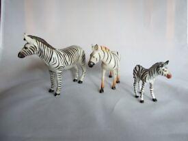 ELC wild animals - Zebras x 3