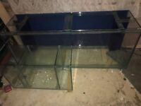 5ft marine glass tank and sump