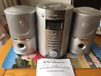 Wharfdale CD Audio System with Digital Tuning Radio