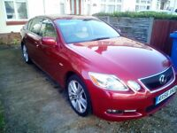 Lexus GS450h Hybrid Auto Long MOT ,two keys,Full service history