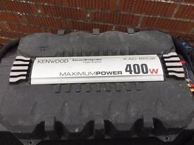 Kenwood amp 400 watt