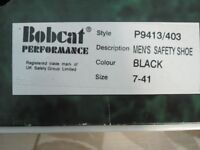 New BOBCAT performance work boots size 7 -41 men or ladies.