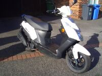 pgo libra 125 auto mint condition 1 owner yes one owner from new all docs owners manualls