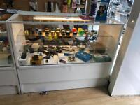Display cabinets used