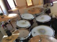 6-Piece Yamaha Stage Custom Nouveau Drum Kit