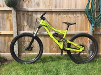Specialized Status FSR Downhill/Enduro/Freeride Mountain Bike Full Suspension, medium frame MTB £795