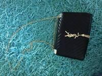 YSL white&black handbag