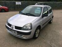 2006 06 renault clio 1.2 drives like new superb car