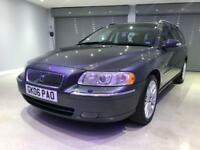 VOLVO V70 2.4 T5 SE LUX 5d AUTO 260 BHP FREE DELIVERY TO YOUR DOOR (grey) 2006