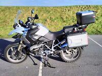 BMW R1200GS, 2009, SILVER, 17,500 miles
