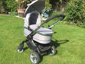 iCandy Peach 2 Silver Mint Travel System