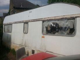Caravan, Free Scrap 4 Berth Caravan, Free Scrap Metal