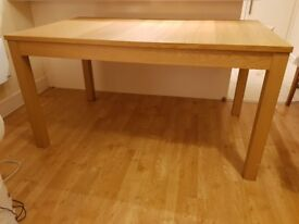 Bjursta Ikea extendable dining table in a good condition