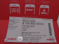 Nick Cave and The Bad Seeds - SSE Hydro Glasgow - 1 ticket seated
