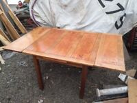 Solid Oak/Pitch pine table.