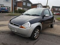 Ford Ka 1.3 3dr 2008 Low Mileage 89938, 1 year MOT.