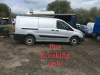 BREAKING 2009 PEUGEOT EXPERT 2.0 HDI FOR PARTS