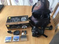 Nikon D40 with 18-55 zoom lens